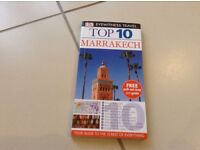 Eyewitness Travel Top 10 Marrakesh. As new, excellent book and map.