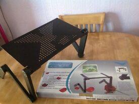 Multifunctional laptop table, portable,folding alluminium alloy