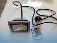 Spotlight 10 watt dimmable RGBW waterproof led garden spot light £12 each