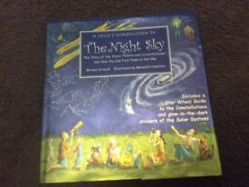The night sky, a child's introduction to starts & planets