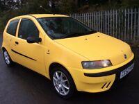 MY RARE FIAT PUNTO 1.2 3 DOOR LONG MOT IDEAL FIRST CAR MUST BE SEEN VERY CLEAN !!!!