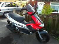 2004 gilera runner vx125 very low miles 1 owner £1200