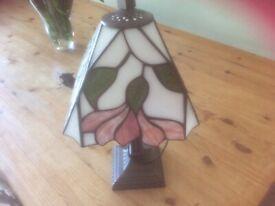 Pretty Tiffany lamp