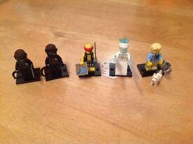 Lego Series 16 figures swap for Disney Lego figures