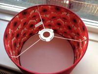 Red Poppy Lampshade