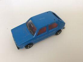VW Golf Mk 1 Majorette not Matchbox or Hot Wheels model car.