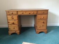Ducal of Andover Compact Pine Desk