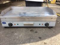 Electric double grill