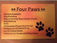 Four Paws Dog Home Boarding Service