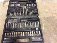 112 piece power bit accessory set