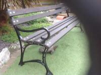 6 Foot Garden Bench, unused