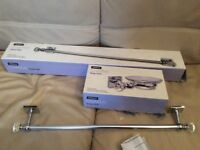 BRAND NEW CHARME TOWEL RAIL AND SOAP HOLDER