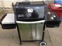 Weber gas barbecue