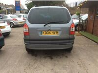 Vauxhall Zarfia 7 seater 2005 54 reg f/s/h very clean new tyres etc