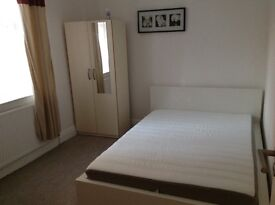 Bright and spacious double room in two-bed flat with living room