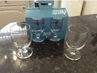 New Set of 4 Jamie Oliver Wine glasses