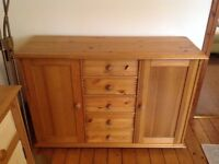 Lovely solid pine sideboard
