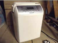 Panasonic Breadmaker in full working order with instructions and recipe book