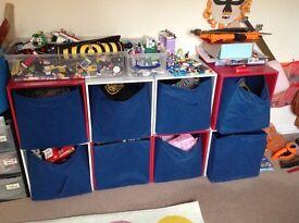 Kids storage cubes