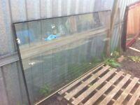 Large double glazed Pilkington glass window pane