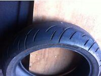 rear bike tyre bt023 180/55/17zr