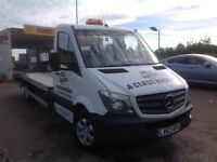 2013,63reg new shape mercedes sprinter recovery truck excellent runner