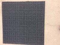 Carpet Tiles Grey Desso Heavy Duty Used