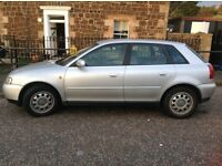 Audi A3 1600 petrol , for spares or repair ,good runner 250 Ono