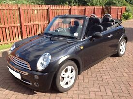 Mini Convertible Black 1.6 Chilli Pack