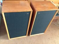 B&w bowers & wilkins DM3 vintage speakers, very rare