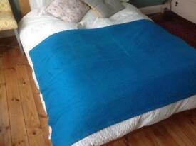 Blue John Lewis bedspread