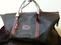 Genuine Mulberry Large Clipper bag, Large Trolley suitcase & Large Moulded suitcase - all brand new