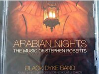 Black Dyke Brass Band CD - Arabian Nights, the music of Stephen Roberts