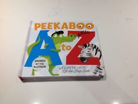 Signed by Author Peekaboo A to Z Lift the Flap Alphabet Board Book £7 Unused Collection CV4 Area