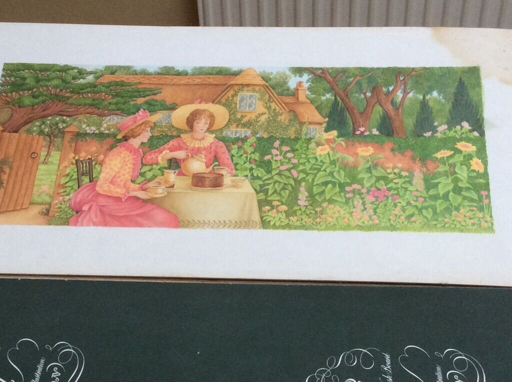 Original watercolour painting (country cottage scenein Clifton, BristolGumtree - Very pretty watercolour illustration. The colours are vibrant and the detail in this picture is very fine. This original, hand painted image is unframed and painted onto high quality artists board. There is a watermark on the top right hand of the...