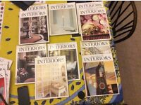 World of Interiors Magazines all pre year 2000
