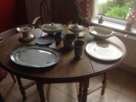 Wedgwood and Meakin various pieces