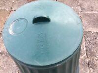 Compost organic plastic container