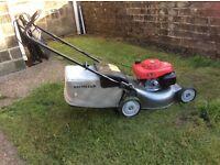 Honda petrol rotary mower