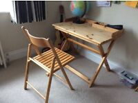 Habitat desk & chair