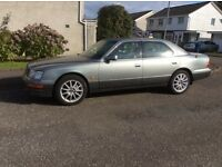 Lexus Ls400 Mot till 5/10/2017. TSW wheels.£850 Renfrew. Low miles