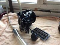 Power gravel filter cleaner