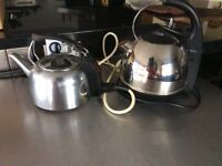 TEFAL STAINLESS STEEL ELECTRIC KETTLE EXCELLENT CONDITION