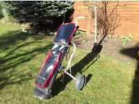Golf Set & Trolley For Sale