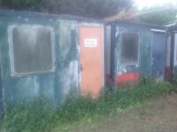 Portacabins Two Free WILL PAY FOR REMOVAL