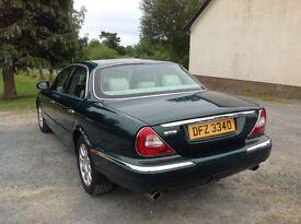 XJ6 Jaguar 2004 mint condition British Racing Green tan leather interior
