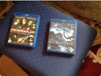 Two Blue Ray DVDs Altitude,,and Pandorum,,As New,,£4 each or Both £6