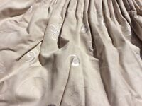 2 pairs of Montgomery Curtains with Pelmets and Tie-Backs