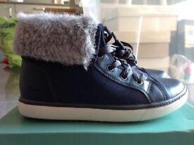 Girls Boots Clarks brand new