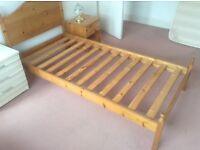 Single Bed Pine